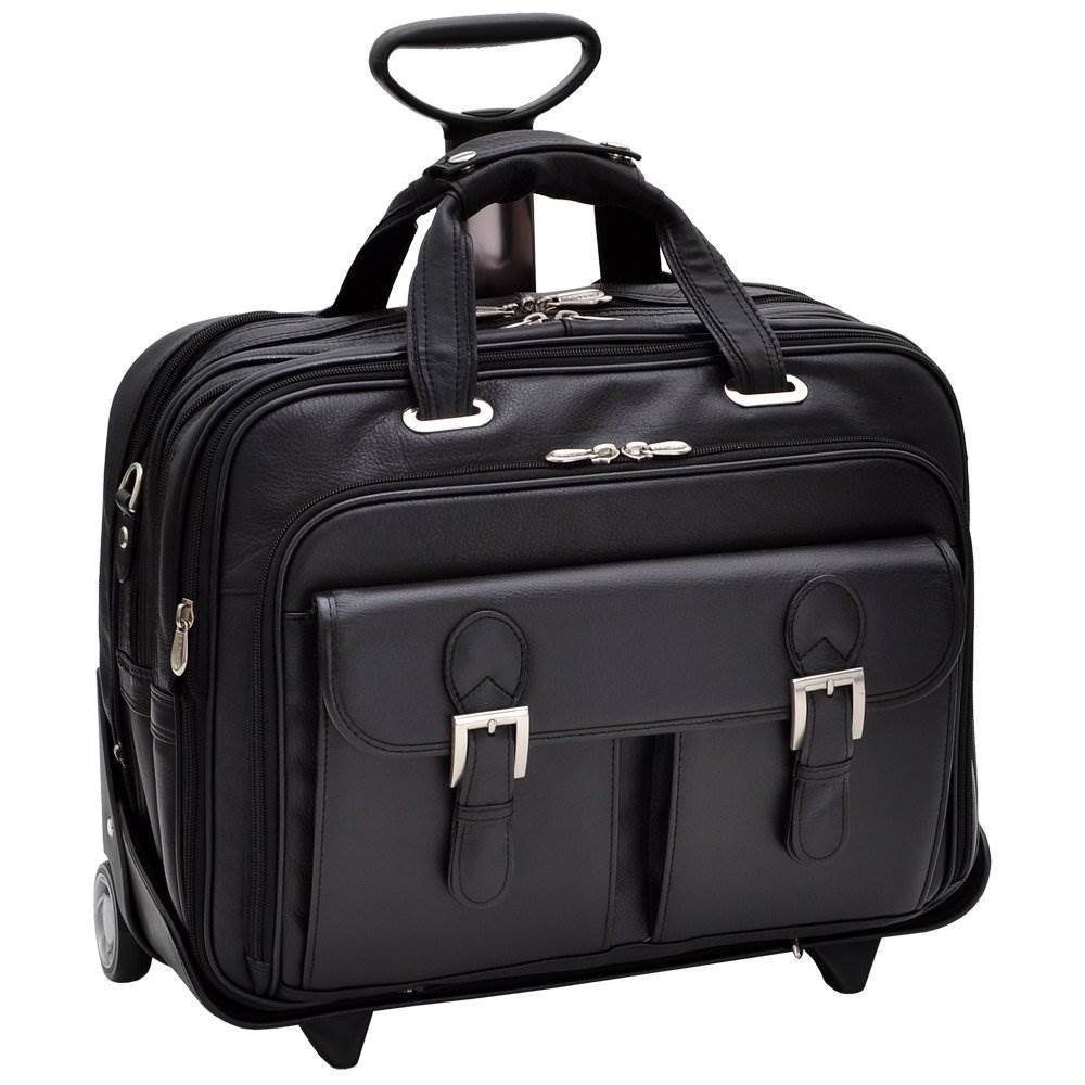 "Siamod Ceresola Checkpoint 17"" Wheeled Laptop Case"