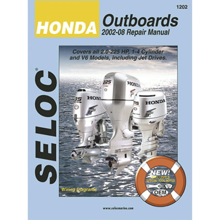Seloc Marine Manual for Honda Outboards, All Engines