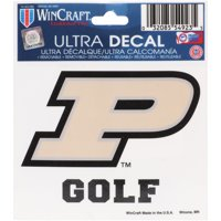 """Purdue Boilermakers WinCraft 3"""" x 4"""" Golf Decal"""