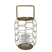 TIC Collection 31-170 Large Candleholder, Gold - 22 in.