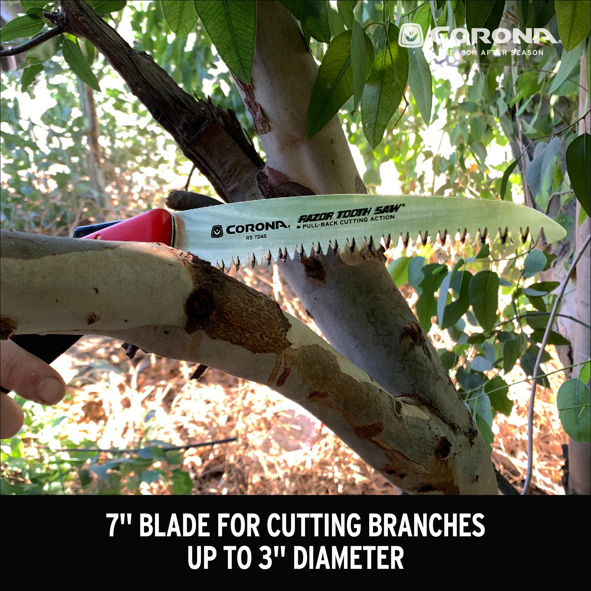 7-Inch Curved Blade Corona RS 7245 Razor Tooth Folding Saw