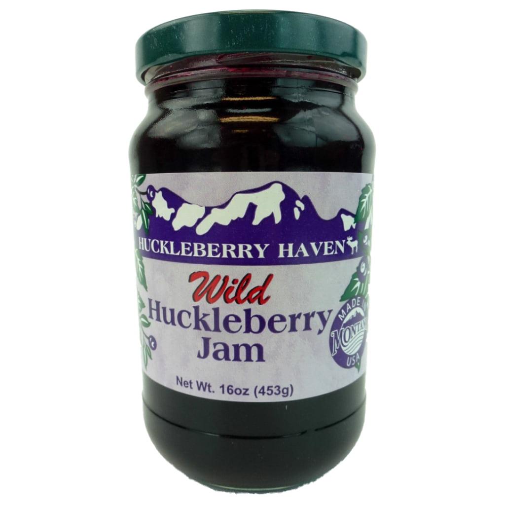 Huckleberry Haven Wild Huckleberry Gourmet Jam, 16 Ounce Jar by Huckleberry Haven