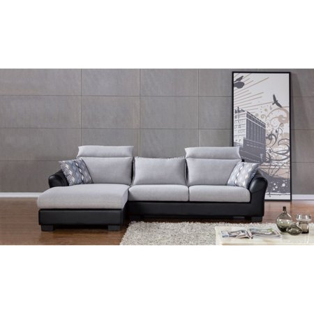 American Eagle Furniture Fulton Sectional Sofa Walmart Com