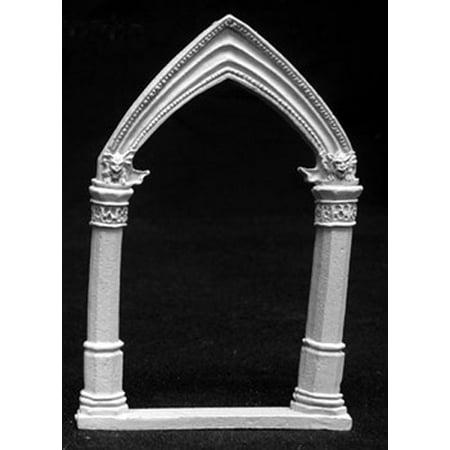 Reaper Miniatures Gothic Archway #02703 Dark Heaven Legends Unpainted - Halloween Gothic Archway