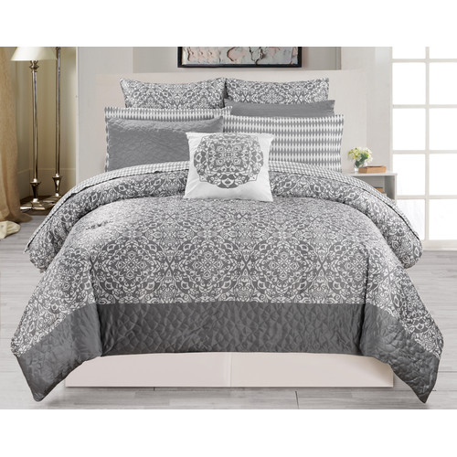 DR International Ashlea 10 Piece Comforter Set