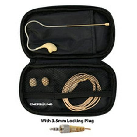 MIC-400SEN Professional Miniature Earset / Headset Microphone for Sennheiser Wireless Systems. Beige.