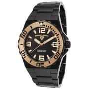 10008-Bb-11-Ga Expedition Black Ip Ss And Dial Black Ip Ss Gold-Tone Accents Watch