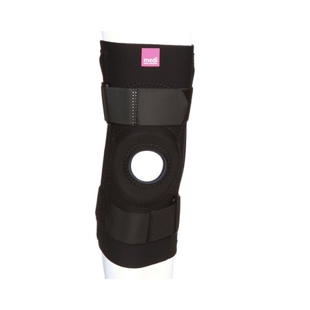 Neoprene Knee Stabilizer best for weak, sore, or misalignment injuries, The medi neoprene knee stabilizer provides relief from knee instability, weak or sore.., By Medi From