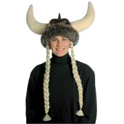 Space Viking with Braids Adult Halloween Accessory
