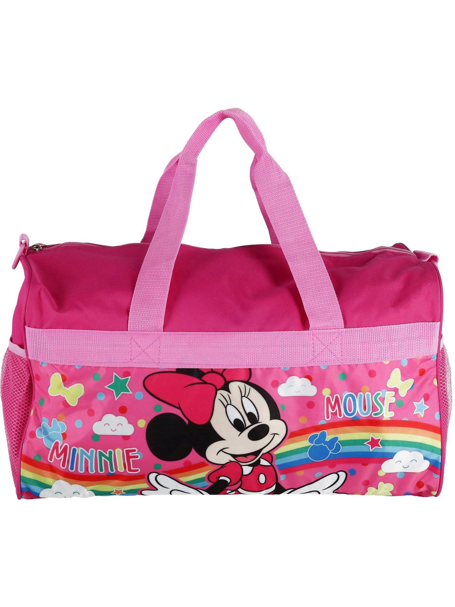 Disney Minnie Mouse Pink Tote Purse Bag Kids Girls Handbag NEW