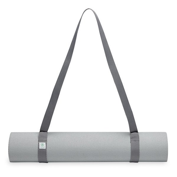 Gaiam Easy Cinch Yoga Mat Sling Gray Walmart Com Walmart Com