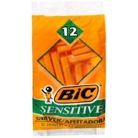 Shaver Bic SensitIVe Skin 12Ea/Pk