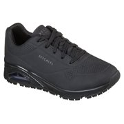 Skechers Work Women's Uno Slip Resistant Lace Up Athletic Airbag Work Shoes