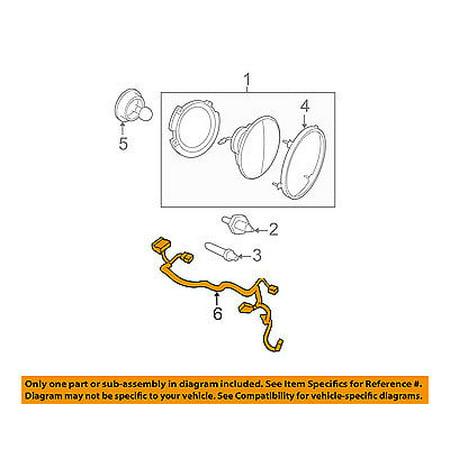 jeep chrysler oem 2013 wrangler headlamp front lamps wire. Black Bedroom Furniture Sets. Home Design Ideas