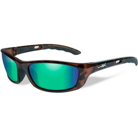 Wiley X P-17 Women's Sunglasses, Polarized Bronze Lens, Gloss Demi Frame - (Wiley X Polarized Fishing Sunglasses)