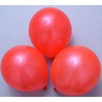 Magik 100pcs 10 inch Pearl Latex Colorful Thickening Wedding Party Birthday Balloon (Black)