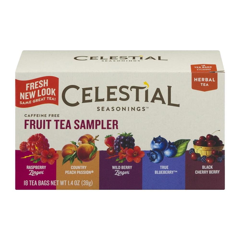 Celestial Seasonings Fruit Tea Sampler 18 CT by The Hain Celestial Group, Inc.