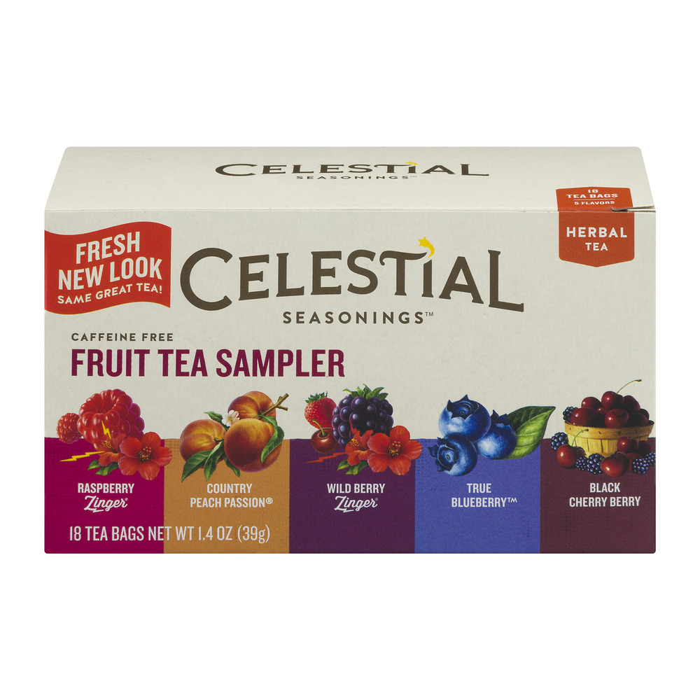 Celestial Seasonings Fruit Tea Sampler - 18 CT