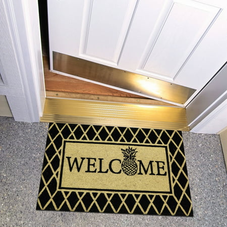 Pineapple Welcome House - Mohawk Home Welcome Pineapple Outdoor Mat