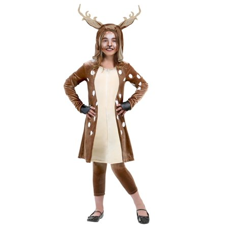 Girls Fawn Costume - Funny Mother Daughter Halloween Costumes