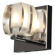 Access Lighting Evia 62286-CH/CRY 1-Light Vanity