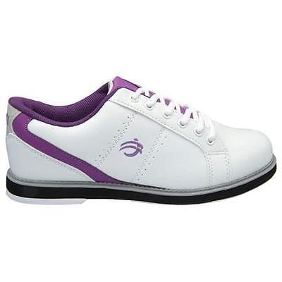 BSI Womens #460 White w/Purple 6.5