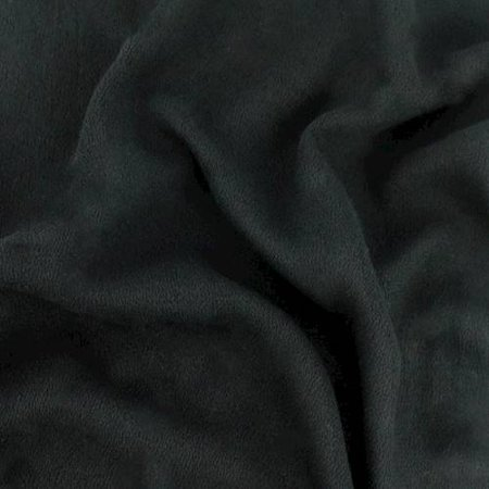 Black Stretch Momie Crepe, Fabric By the Yard Black Stretch Crepe
