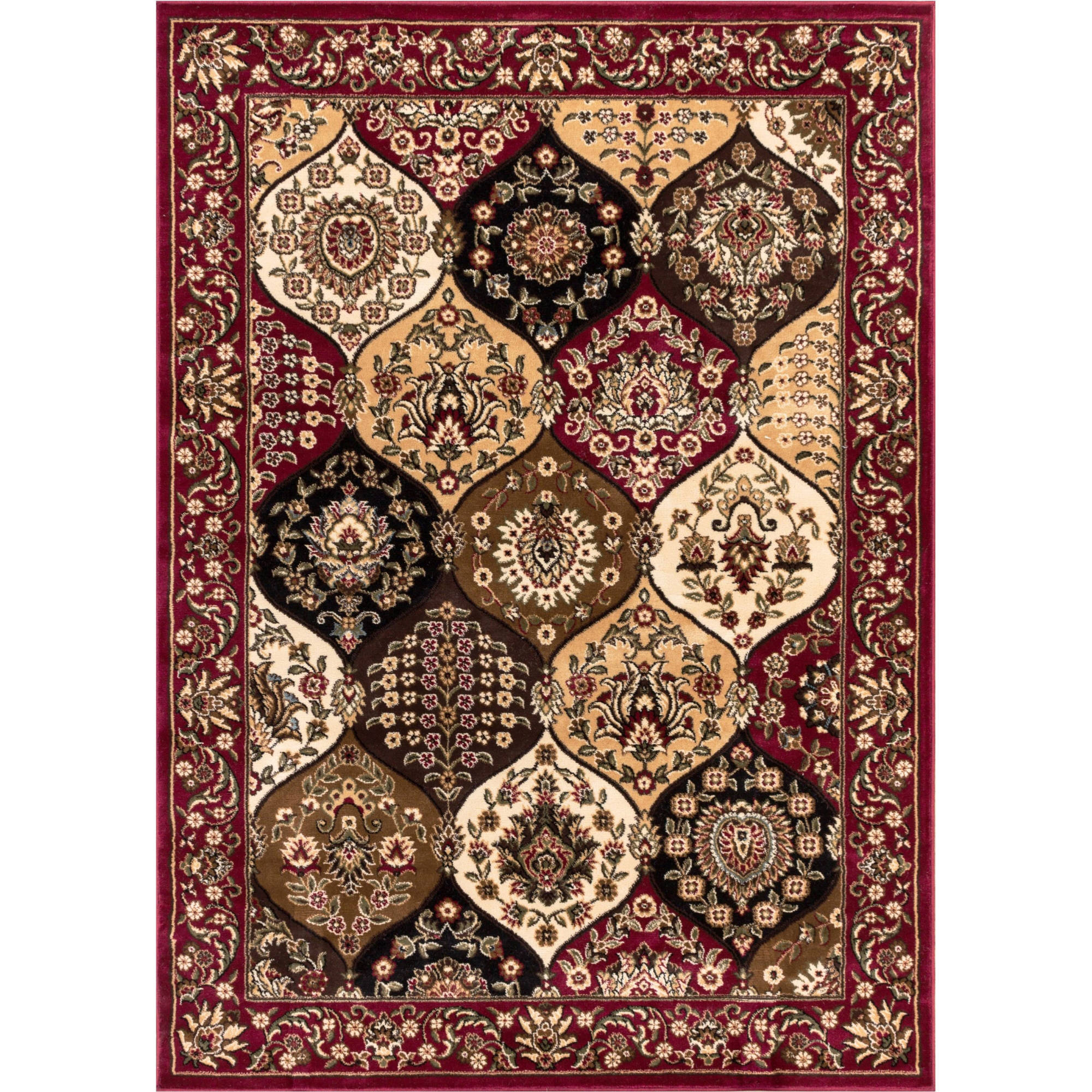 Well Woven Barclay Wentworth Panel Traditional Area/Oval/Round Rug