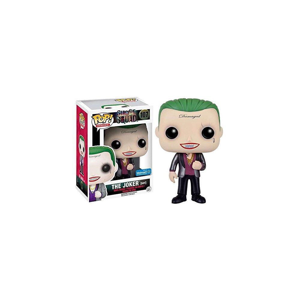 Funko POP Movies: Suicide Squad, The Joker (Suit) Walmart Exclusive