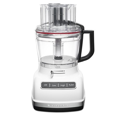 KitchenAid ® 11-Cup Food Processor with ExactSliceâ ¢ System, White (KFP1133WH)