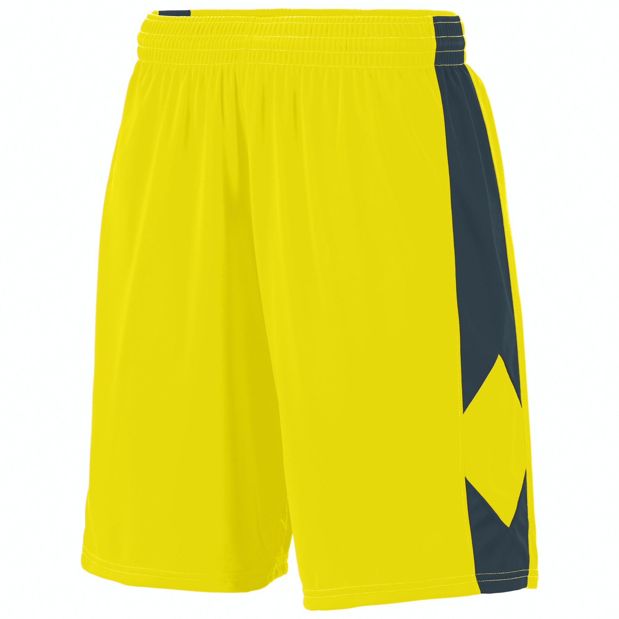 Augusta Sportswear L Men's Block Out Short White/White 1715