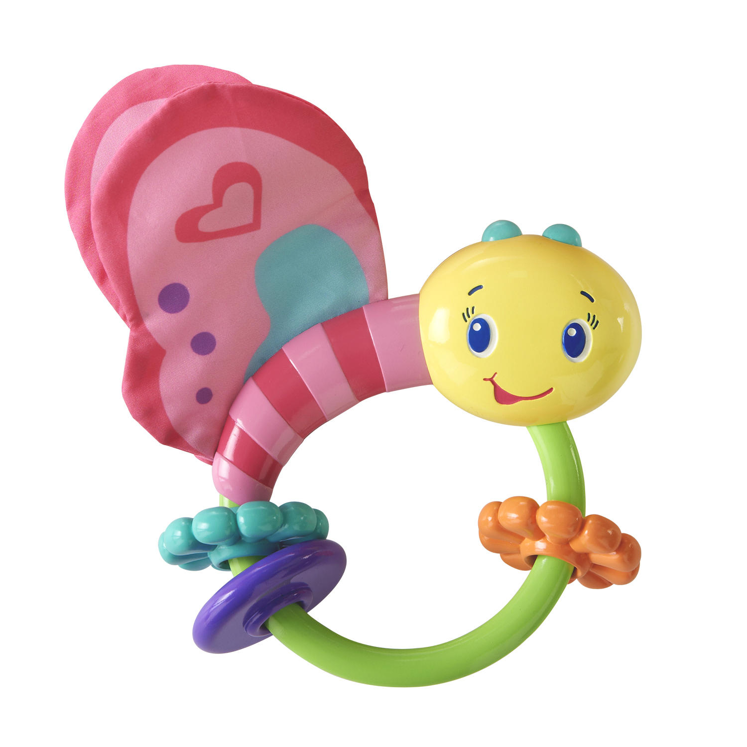 Bright Starts Fly By Butterfly Rattle Toy