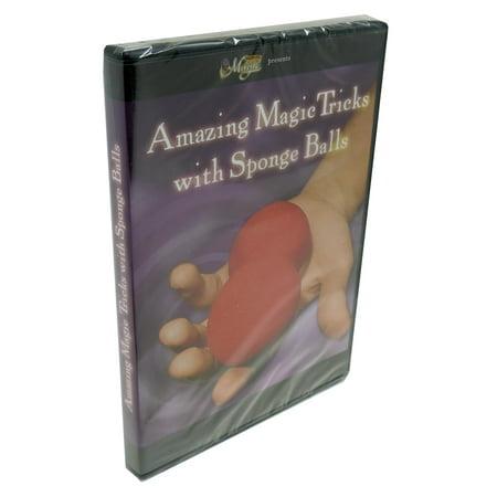 Amazing Magic Tricks with Sponge Balls DVD From Royal Magic Dvd Amazing Magic Tricks