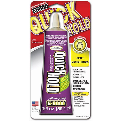 E6000 Quick Hold Adhesive-2 Ounces