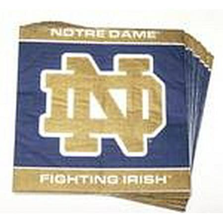 Notre Dame Fighting Irish Lunch Napkins (Irish Napkins)