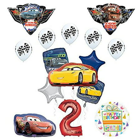 Disney Cars Balloons (Disney Pixar Cars