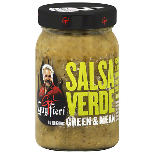 Guy Fieri Verde Salsa, 16 oz, (Pack of 6)