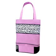 Sassi Design Pink Black Dalmation Blank Tote Bag