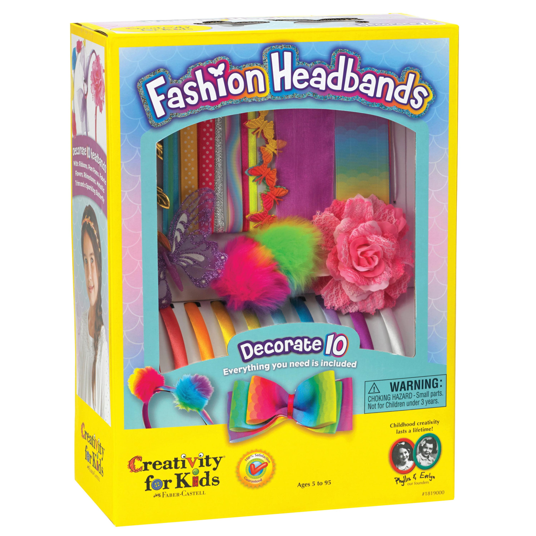 1x Knitting Kit My First Knitting Kit Clutch Bag /& Hairbands Tool Hobby
