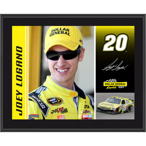 Joey Logano Sublimated 10x13 Driver Photo Plaque | Details: 2012 Dollar General