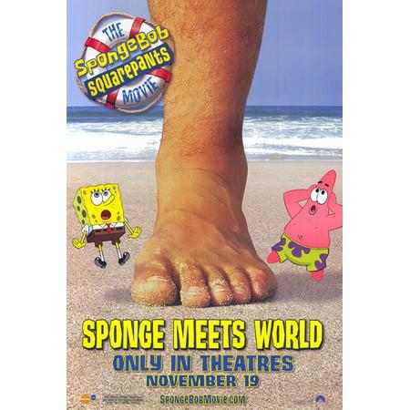 Spongebob Squarepants Movie Poster Movie C  27X40