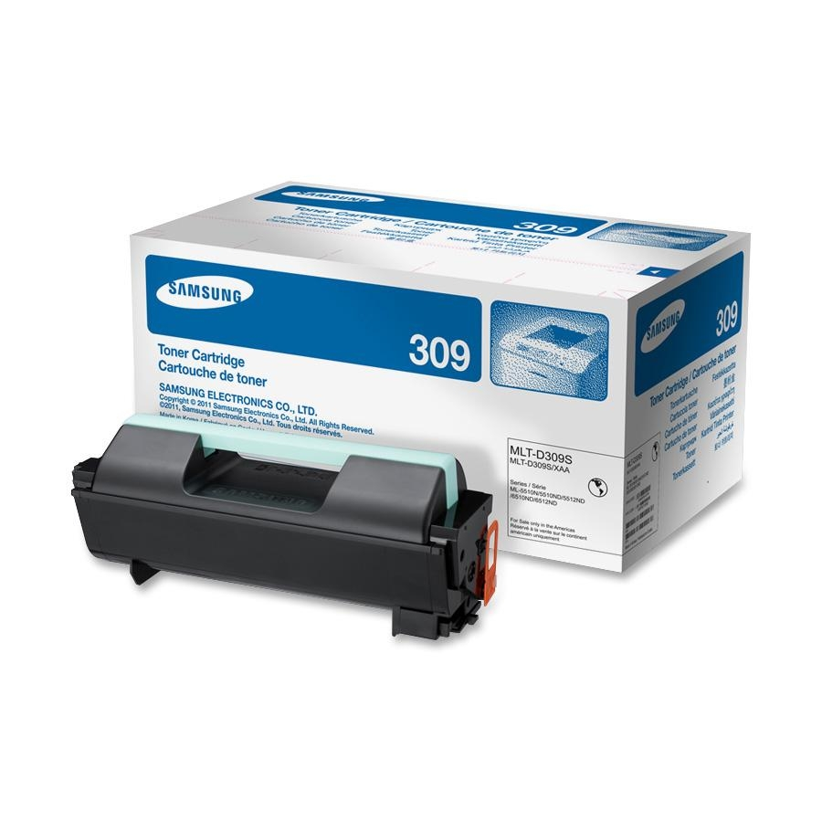 Samsung MLT-D309S Standard Yield Toner for ML-5512ND and ML-6512ND Series; 10,000 Page Yield