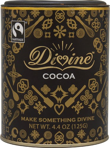 Divine Chocolate Cocoa Powder 4.4 oz by Divine Chocolate