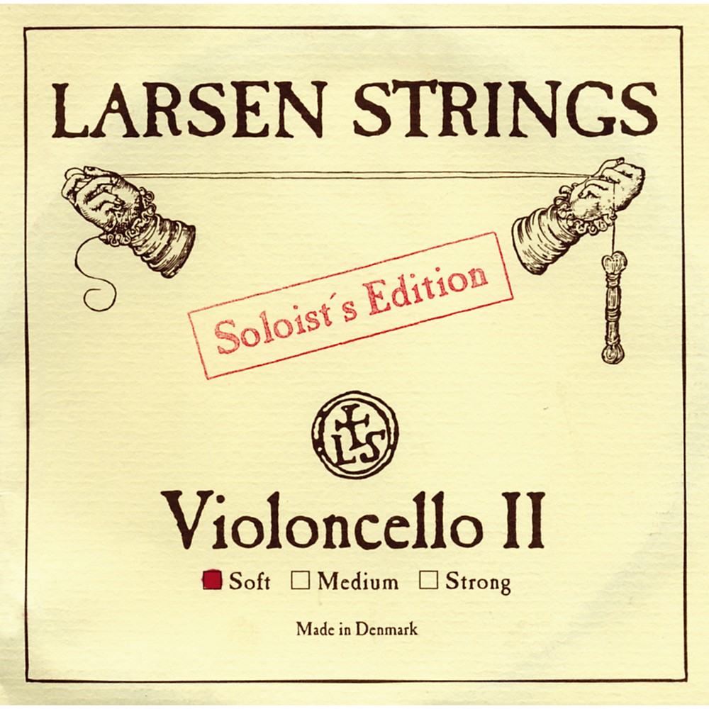 Larsen Strings Soloist Series Cello Strings A, Soloist, Strong by Larsen Strings
