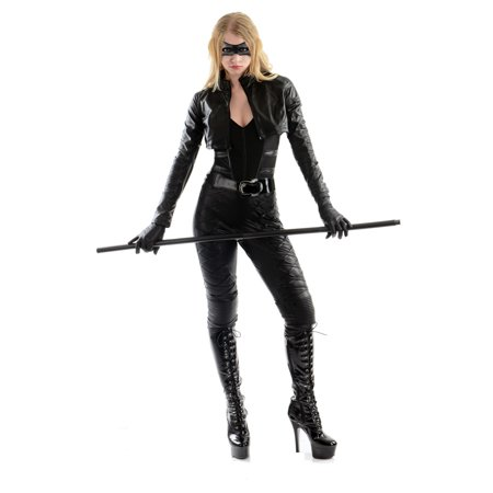 Halloween Black Canary Adult Costume