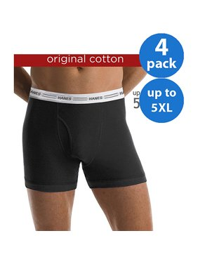 932f18f0e5 Product Image Big Men's 4 Pack Boxer Brief, up to 5XL
