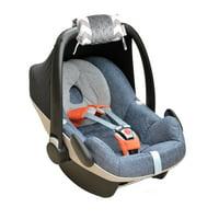 Itzy Ritzy Ritzy Wrap™ Infant Car Seat Handle Cushion, C. Grey Chevron