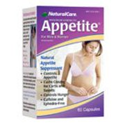 Appetite Suppressant Natural Care 60 Caps