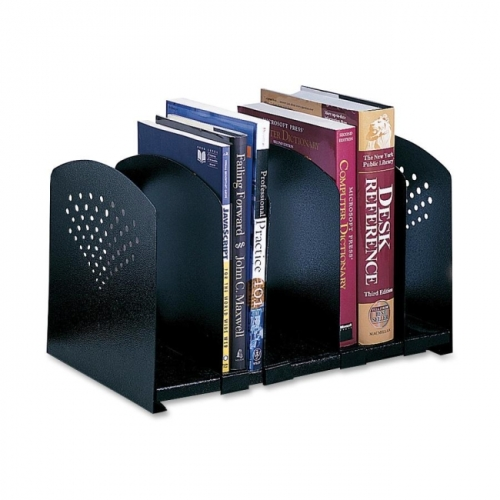 Safco 5 Section Adjustable Book Rack
