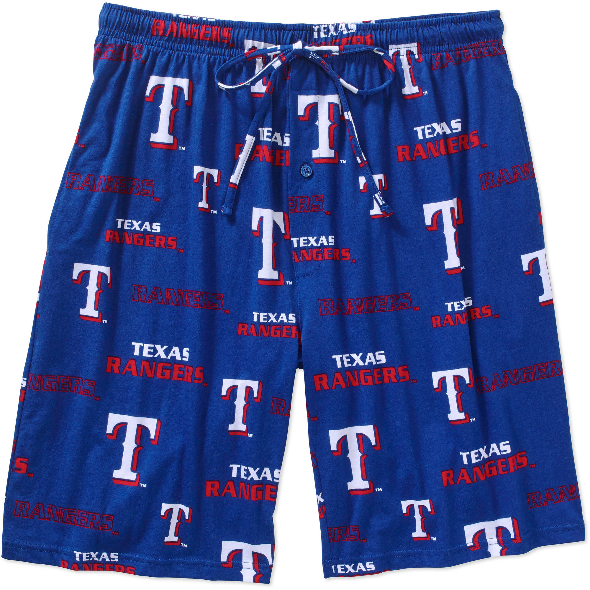 MLB Men's Texas Rangers Knit Jam Shorts